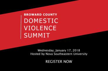 BROWARD COUNTY DOMESTIC VIOLENCE SUMMIT