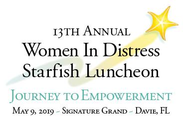 13th Annual Women In Distress Starfish Luncheon