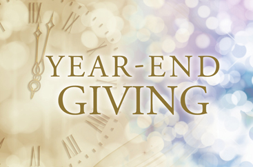 The Gift of  Giving A Year-End Donation