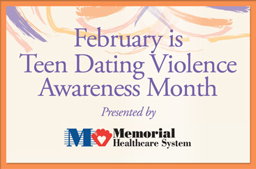 Join Women In Distress and Memorial Healthcare System in speaking out against Teen Dating Violence