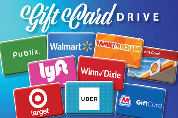 Gift Card Drive Happening Now